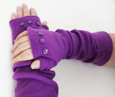 Fleece Arm Warmer Pattern