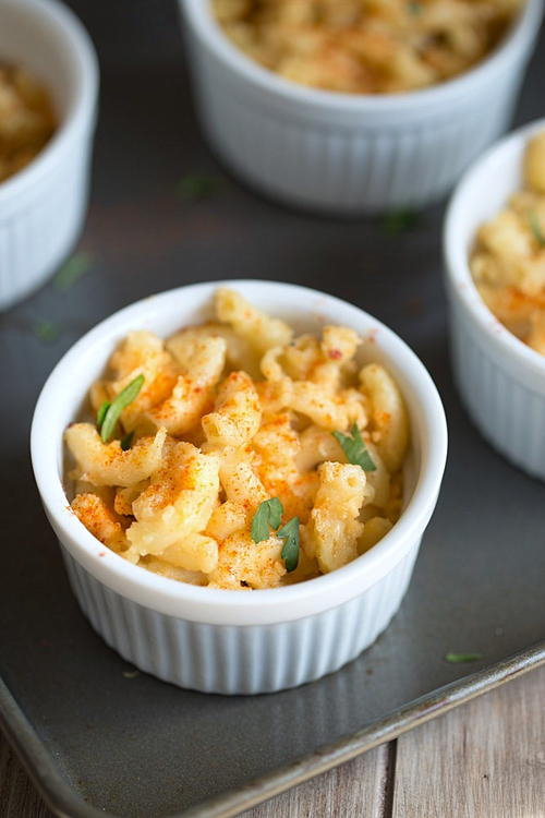 Four Cheese Beer Macaroni and Cheese