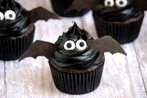Midnight Bat Cupcakes