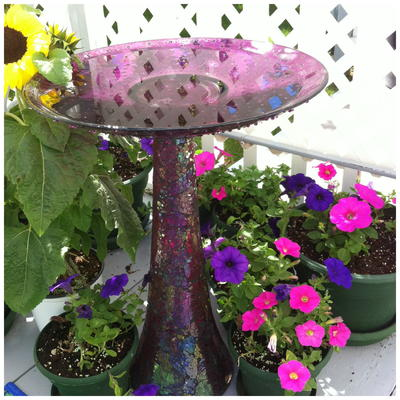 Amazing DIY Bird Bath