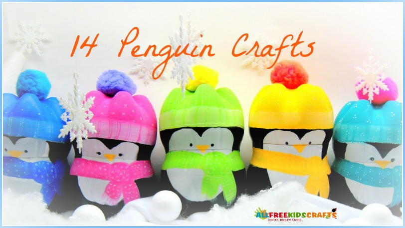 Winter crafts for kids 14 penguin crafts for Dog crafts for adults