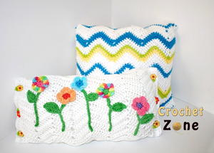 Peaks & Valleys Chevron Pillows