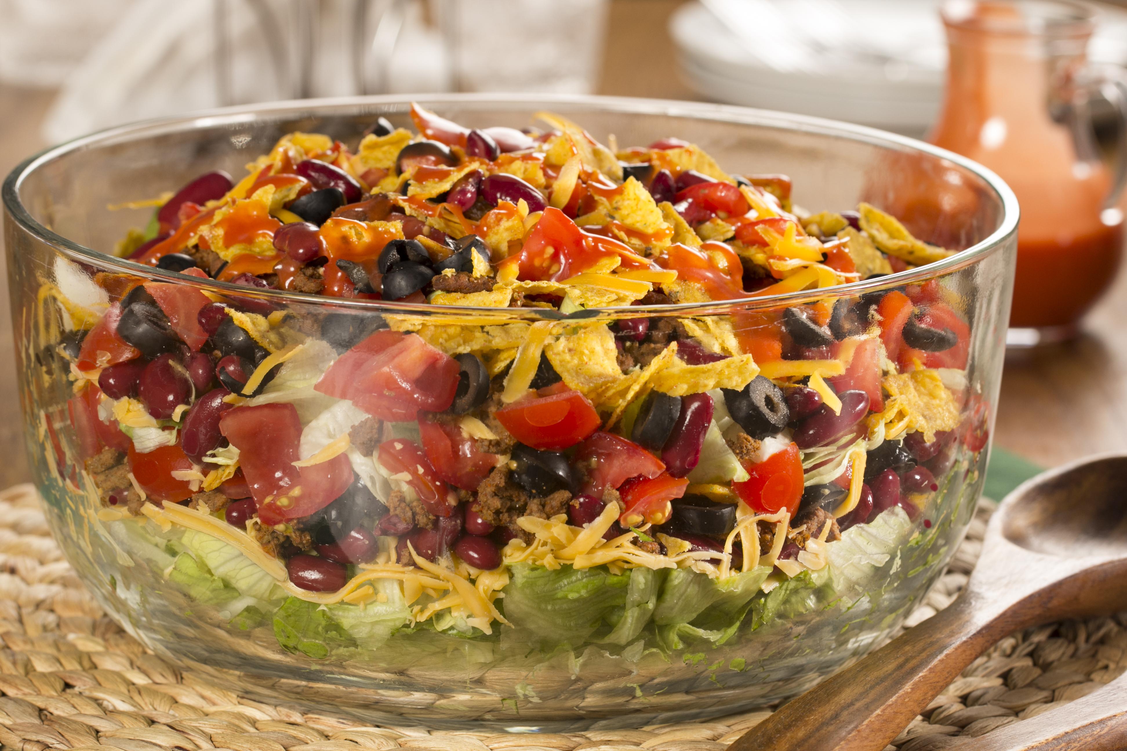 Taco Salad Recipe Kidney Beans