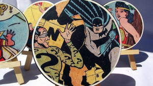 Comic Book Page Coaster