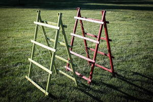 DIY Adjustable Garden Trellis