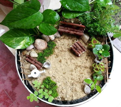 Cute and Easy Miniature Garden