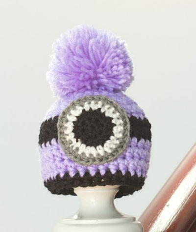 Evil Minion Crochet Hat Pattern