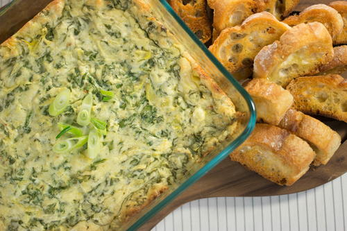 Homemade Olive Garden Spinach and Artichoke Dip