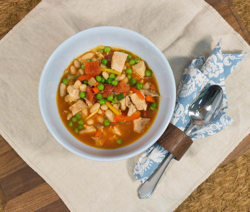 Hearty Chicken and White Bean Soup