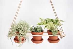Rustic Hanging Planter