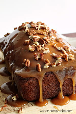Pecan Praline Apple Bread