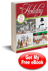 20 Easy DIY Holiday Projects free eBook
