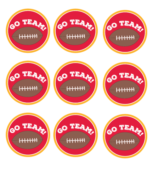 Football Tailgating Party Printables