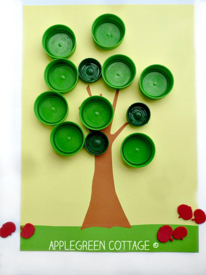 bottle cap activity for kids