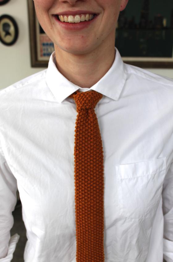 Versatile Knit Tie