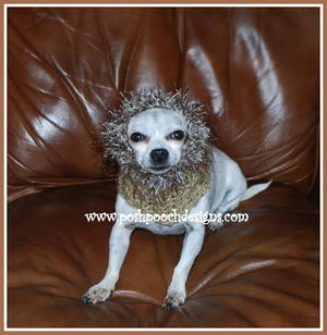 Cozy Fur Trimmed Dog Snood