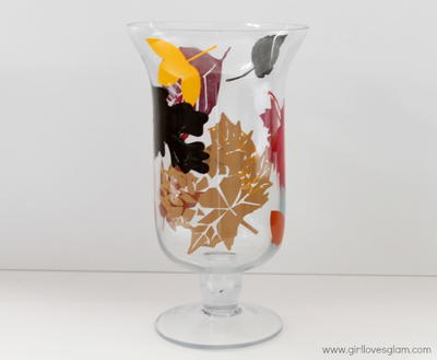 Autumn Leaves Apothecary Jar