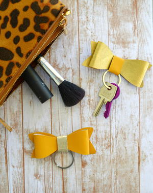 Bow Keychains
