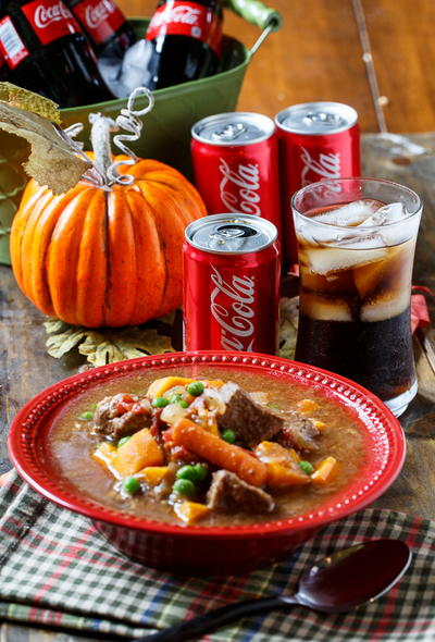Slow Cooker Coca Cola Beef Stew