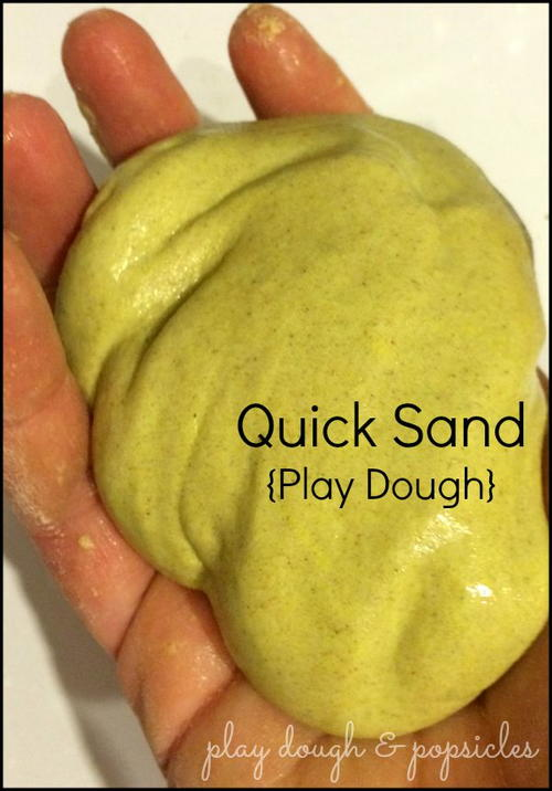 Quick Sand Play Dough
