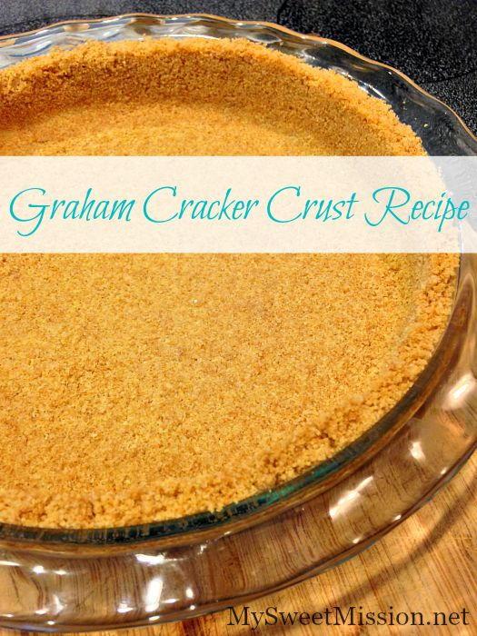 How to Make the Perfect Graham Cracker Crust   RecipeLion.com