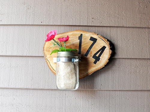 How to Make a Wooden House Number Sign