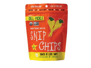 Wonderfully Raw Dill Pickle Snip Chips