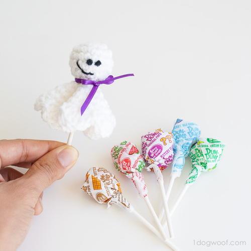 Halloween ghost crochet amigurumi pattern free | 500x500