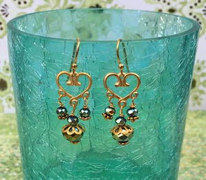 DIY Chandelier Earrings