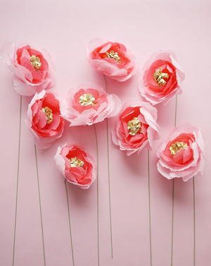 Blushed Romance Paper Flower Bouquet