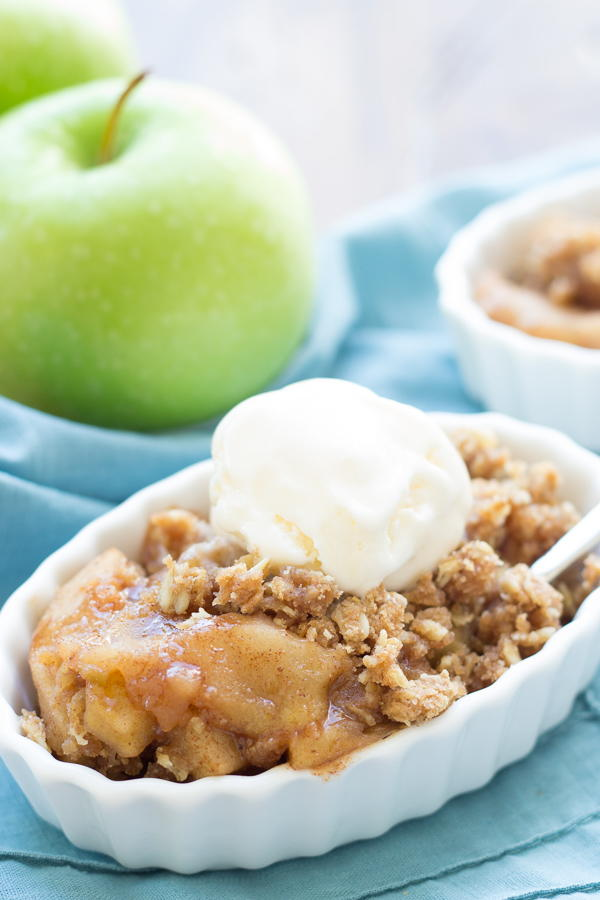 Slow Cook Apple Crisp