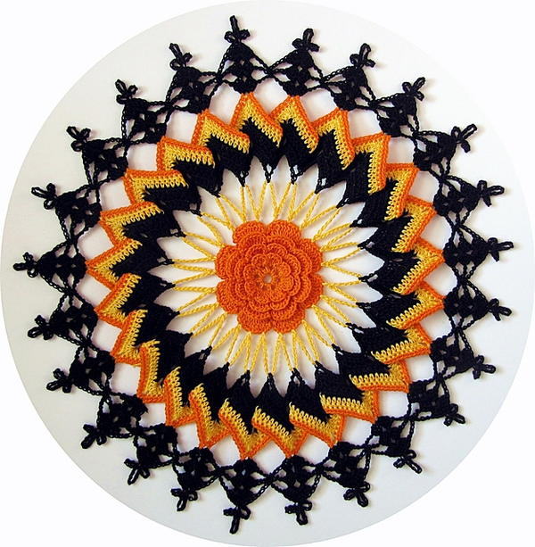 Trick or Treat Doily