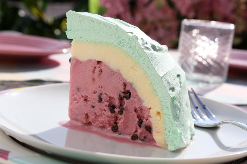 Watermelon Ice Cream Bombe Mrfood Com