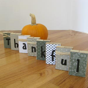 Repurposed Thanksgiving Blocks