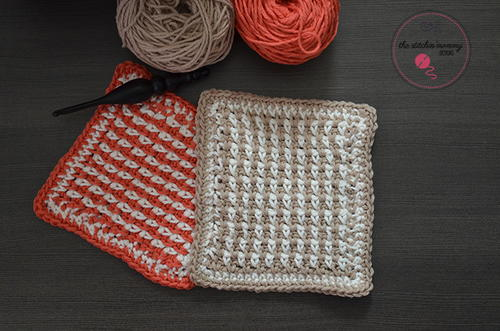 Linen Stitch Dishcloths