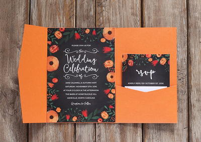 Whimsical Wedding Invitation Template