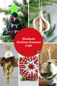 50 Handmade Christmas Ornament Crafts