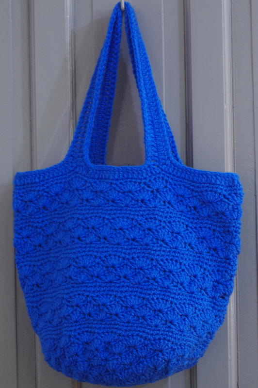 Seaside Crochet Tote Bag