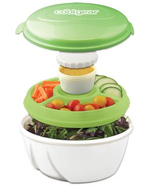 Cool Gear EZ Freeze Stay Fit 5 pc Salad Set