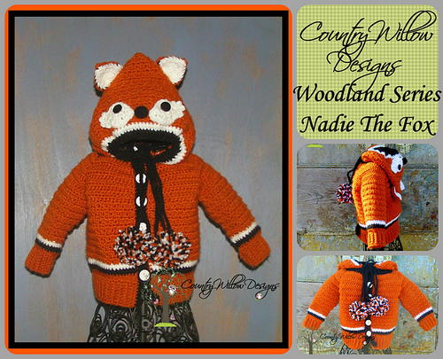 Nadie the Fox Unisex Sweater