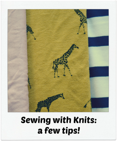 Sewing with Knits 101