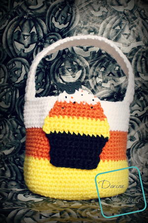 Halloween Candy Corn Bag