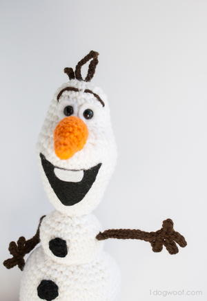 Olaf Crochet Toy Pattern