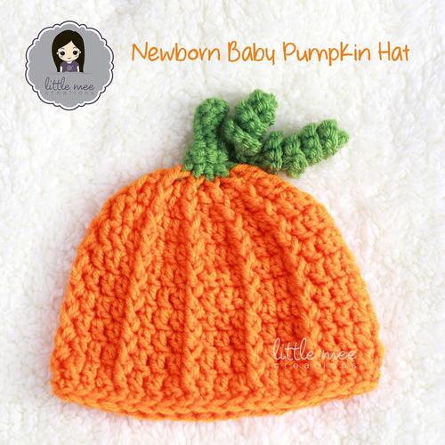 Newborn Baby Pumpkin Hat  dc97da760da