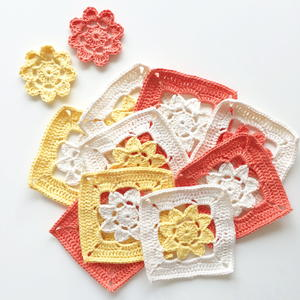 Easy Peasy Flower Squares