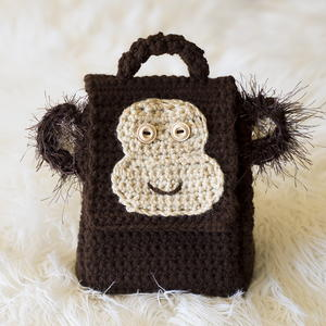 Monkey Lunch Box Crochet Pattern