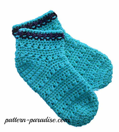 X Stitch Slipper Socks