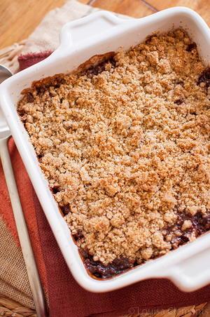Cranberry Granola Crisp | FaveGlutenFreeRecipes.com