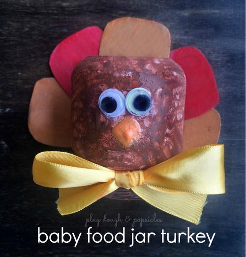 Turkey Craft made from Recycled Materials