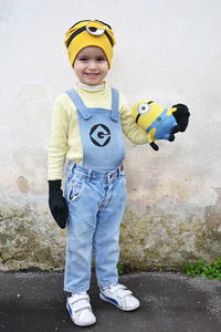 Super Quick Minion Costume